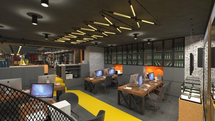Baytekin store_office area_sacura mimarlık